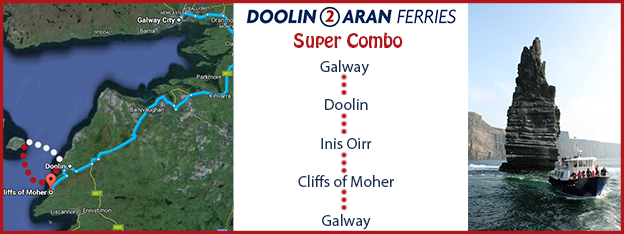 Doolin2Aran Ferries Super Combo Boat Trip