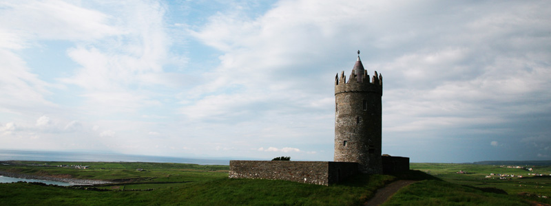 Doonagore Castle, Doolin, Co.Clare, Ireland