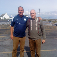 Donie Garrihy and Mike Tobin