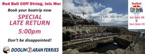 Red Bull Cliff Diving 2014 – Next stop Inis Mor!
