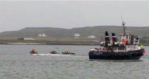 Currach Race, Patrun Inis Mor