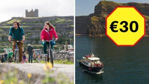 Combo Aran Island and Cliffs Cruise