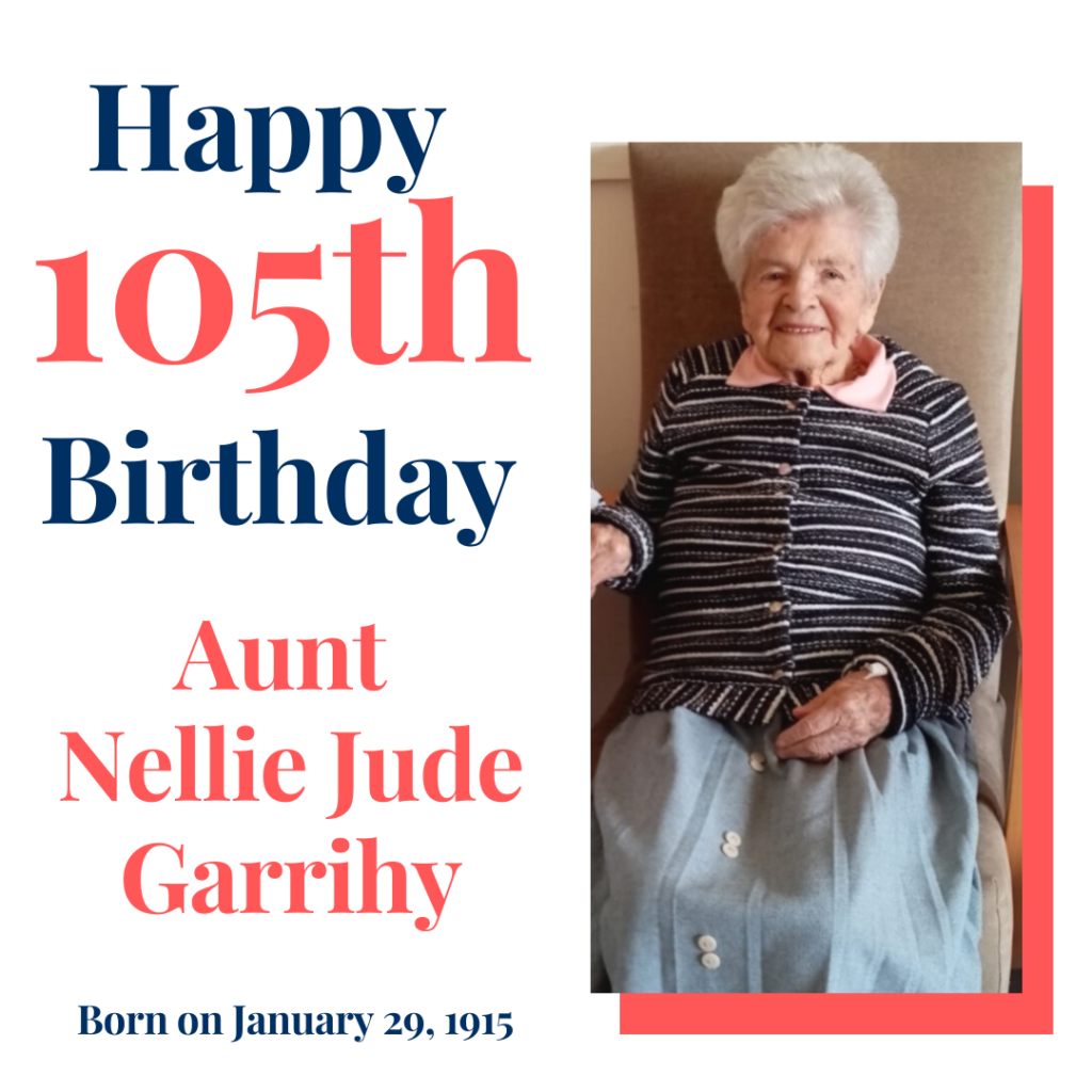 Happy Birthday Nellie Jude Garrihy