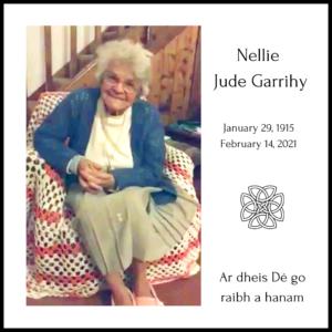 Auntie Nellie Jude Garrihy